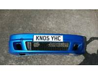 Vauxhall zafira gsi bumper