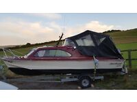 Shetland 535 motor boat