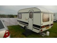 LOVELY OLD 2 BERTH CARAVAN