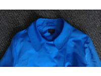 Marks and Spencer's Gorgeous Blue Coat Size 20 VGC