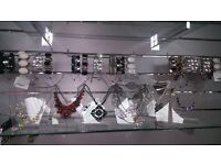 "10"" Acrylic Earring & Necklace/Chain Display Bust / Bracelet and Earring display"