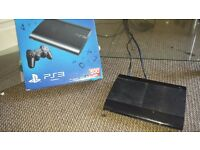 Playstation 3 slim 500gb with 1 controller and games included.