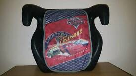 **Child's Car Seat - Disney 'Cars' design**