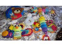 Joblot of baby toy's
