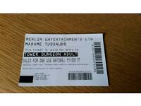 Blackpool tower dungeon adult ticket