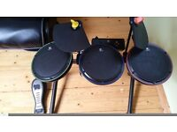XBOX 360 Drum Kit Excellent condition. Rarely used.