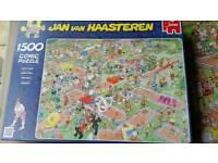 Jan van Haastern jigsaw CRAZY GOLF 1500