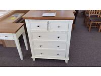 Ex-Display Julian Bowen Portland 3+2 Drawer Chest **CAN DELIVER**
