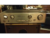 Luxman L200 Duo Beta Amplifier - in Excellent cosmetic condition, one channel needs repair