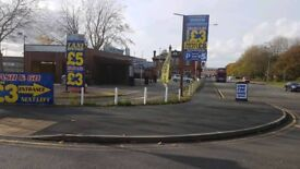 Established Main Road Busy Hand Car Wash Valeting Business For Sale - Manchester City Car Park
