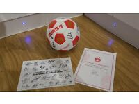 Aberdeen Football Club Signed 2016 Signed Football