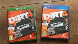 Dirt 4 latest top game for PS4 or Xbox one