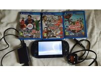 PS Vita with 4gb memory card and 3 games - Excellent condition