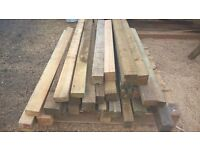 3 x 3 and 3 x 2 timber. ideal for raised beds and flower box building