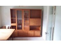 Dining room display/storage unit in perfect condition!