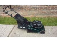 Hayter harrier 41 self propelld mower rrp £735 on hayter website