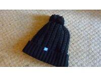 Preston Innovations black beanie hat brand new.