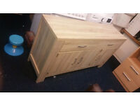 Large sideboard in oak new order