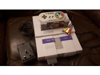 USA SNES NTSC Super Nintendo Complete with Street Fighter 2 - Tested, working, ready to go!
