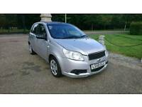 CHEVROLET AVEO 1.2 LOW MILES 5 DRS HATCHBACK LOW MILEAGE 86K IDEAL FIRST CAR CHEAP INSURANCE RD TAX