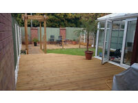 Decking/ Landscaping Services Liverpool,