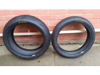 Motorcycle Tires Maxxis Supermaxx Sport (Rear: 180/55/17 Front: 120/70/17)
