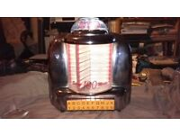 JUKEBOX RADIO Select-O-Matic 100 AM/FM & Cassette by Spirit of St. Louis