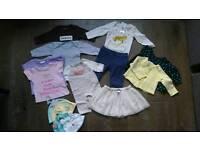 Baby girl clothes, 0-3