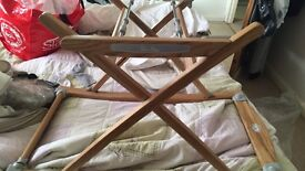 Silver cross carry cot / Moses stand