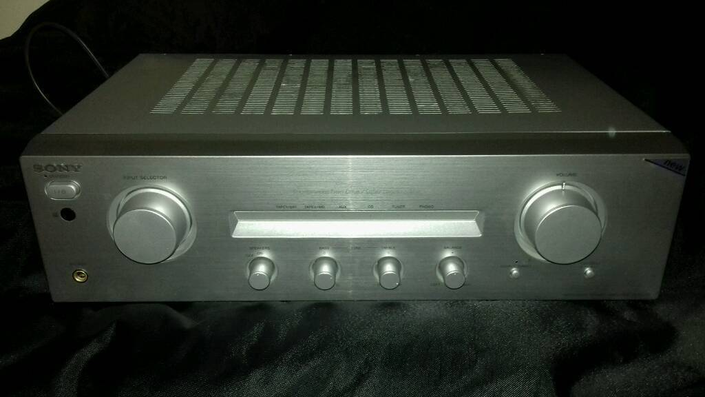 SONY TA-FE370 Integrated Stereo Amp 70watts with Remote Control