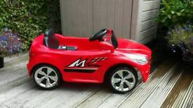 Red Electric Children's Car