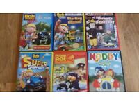 mixture of childrens dvds