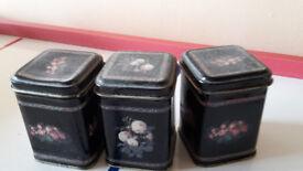 mini tea caddies
