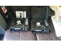 2 gas camping stoves