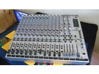 BEHRINGER EURORACK MX2642A 26 CHANNEL MIXER