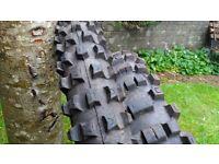MICHELIN Cross AC tyres.