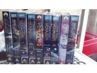 Star trek Voyager VHS Tapes