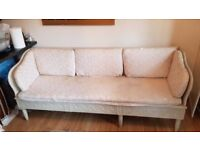 18th century 3 seater sofa for sale