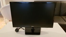 21.5' LG HD TV with Power Cable & Remote