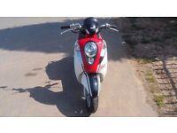 sym mio 50cc 4 stroke scooter 2011 piaggio gilera aprilia honda yamaha mio 100 miles on a tank