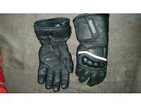 Motorcycle gloves medium
