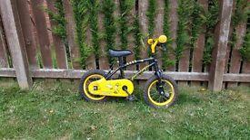 Childs small bike