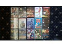 50p per disk mixed colllection of dvds
