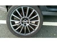 Genuine MK4 VW R32 alloys 225/40/18