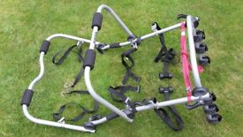 Universal Car Rear High Mount Rack 3 Bicycle Carrier by Halfords