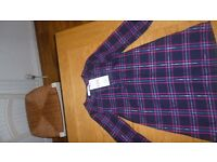 NEW - very cute tartan M&S dress - age 4-5