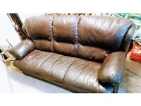3 Seater Leather Sofa, great condition