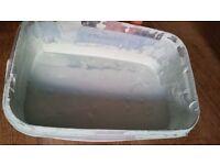 Matt emulsion paint approx 2 litres