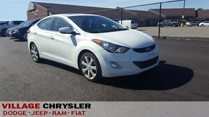 2013 Hyundai Elantra LIMITED, LEATHER, NAVI, PWR/SUNROOF