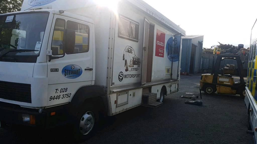 77ba53d805 1994 mercedes 814 race truck   camper   transporter lorry